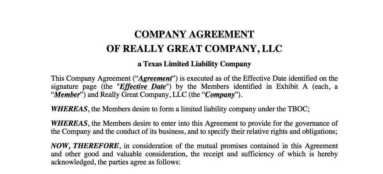 Llc_Company_Agreement_Texas.Jpg